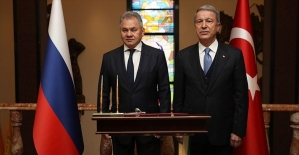 Milli Savunma Bakanı Akar, Rus mevkidaşı ile görüştü