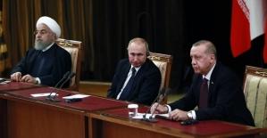 Türkiye-Rusya-İran'dan ortak açıklama