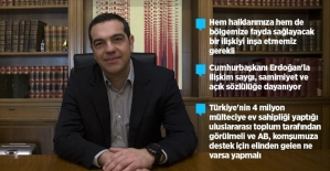 Yunanistan Başbakanı Çipras, AA'ya konuştu