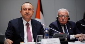 Dışişleri Bakanı Çavuşoğlu: Kudüs'ün statüsünün muhafazası önceliklerimizden bir tanesi