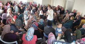 """""""Hijyen Sağlıktır"""" projesi mart ayında 6 bölgede 600'e aşkın kadına ulaştı"""