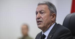 Milli Savunma Bakanı Akar: Kandil'deki operasyonların devamı gelecek