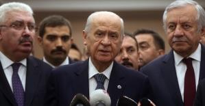 MHP Genel Başkanı Bahçeli: Mazbatayı stadyuma taşımak siyasi düşmanlık için ekilen tohumdur