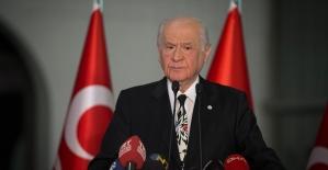 MHP Genel Başkanı Bahçeli: Türkiye üzerinde karanlık hesapları olan mihraklar kaybetmiştir