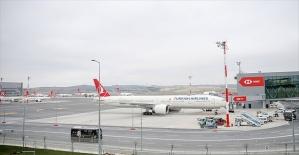 Taşınma sonrası İstanbul Havalimanı'ndan ilk uçuş Ankara'ya