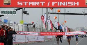 Vodafone 14. İstanbul Yarı Maratonunun galibi Kenyalı atletler