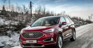 Yeni Ford Edge daha fazla performans ve teknoloji sunuyor