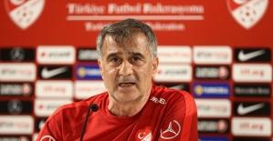 A Milli Futbol Takımı Teknik Direktörü Güneş: Hedefimiz her maçı kazanmak