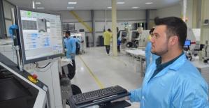 Amasya'da üretilen LED ekranlar Katar yolunda