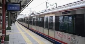 Banliyö hattını kullanan yolcu sayısı 24 milyona yaklaştı