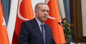 Cumhurbaşkanı Erdoğan: Avrupa Birliği tam üyelik hedefine ulaşmakta kararlıyız