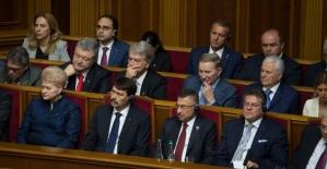 Cumhurbaşkanı Yardımcısı Oktay, Zelenskiy'in göreve başlama törenine katıldı