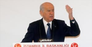 MHP Genel Başkanı Bahçeli: İstanbul tertemiz vicdanlara emanet edilmelidir