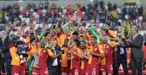 Türkiye Kupası'nın sahibi Galatasaray