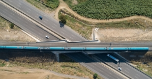 Çerkezköy-Kapıkule demir yolu hattında imzalar atılıyor