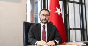 Cumhurbaşkanlığı İletişim Başkanı Altun: TSK mensuplarımıza yönelik tahripkar ifadeleri kınıyoruz