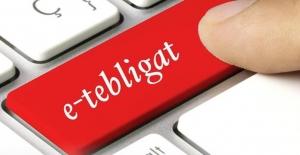Elektronik tebligatla 70 milyon lira cepte kaldı