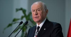 MHP Genel Başkanı Bahçeli: Karanlık odaklar hain emellerini gerçekleştiremeyecek