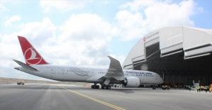 THY'nin 'rüya uçağı'na 'Maçka' ismi verildi