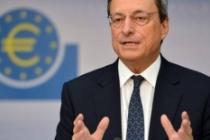 ECB Başkanı Draghi: Ekonomik büyüme ılımlı seyrediyor