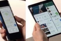 Katlanabilir ekranlı Samsung Galaxy Fold