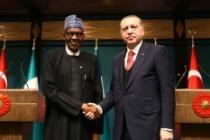 Cumhurbaşkanı Erdoğan Nijeryalı mevkidaşı Buhari'yi kutladı