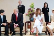 ABD Başkanı Trump Japonya İmparatoru Naruhito ile görüştü