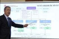 Bakan Akar yeni askerlik sisteminin tüm detaylarını açıkladı