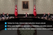 'Türkiye'nin bütün terör örgütleriyle mücadelesi devam edecek'
