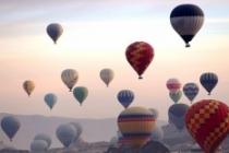 Kapadokya'da ilk kez uluslararası sıcak hava balon festivali düzenlenecek