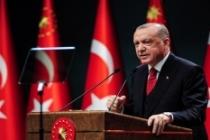 Cumhurbaşkanı Erdoğan: Yeni Türkiye'nin istikbal mücadelesinin önderleri hep minnetle anılacaktır