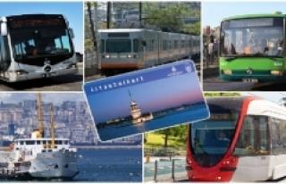 Bayram sonrası İstanbul'da ulaşım araçları...