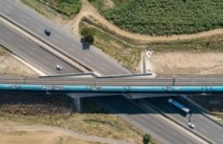 Çerkezköy-Kapıkule demir yolu hattında imzalar...
