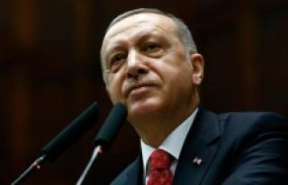 Cumhurbaşkanı Erdoğan AK Parti milletvekilleriyle...