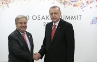 Cumhurbaşkanı Erdoğan G20'de liderlerle görüştü