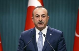 Dışişleri Bakanı Çavuşoğlu: Fransa'nın...