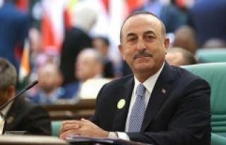 Dışişleri Bakanı Çavuşoğlu'ndan Arakanlı...