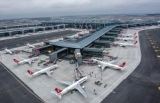 İstanbul'daki havalimanları baharda 25 milyon...
