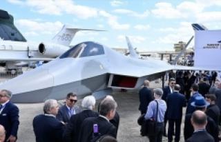 'Milli Muharip Uçağı' Fransa'da...