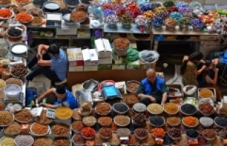 Orta Asya'nın en güzel pazarı Mehrgon