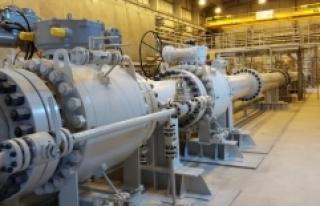 TANAP'tan bir yılda 1,8 milyar metreküp gaz...