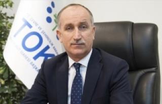 TOKİ Başkanı Bulut: TOKİ 140 yeni şantiye ile...
