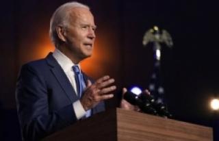 Biden'den kongredeki ilk konuşmasında dikkat çeken...