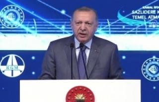 Cumhurbaşkanı Erdoğan: Kanal İstanbul'a İstanbul'un...