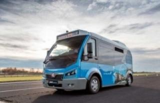 Karsan, Avrupa'da elektrikli minibüs pazarının...