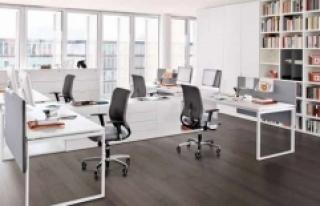 Şirketlerin yüzde 85'i esnek ofis alanlarını...