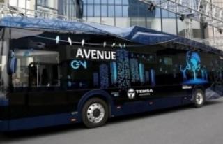 Türkiye'nin ilk yerli elektrikli otobüsü banttan...