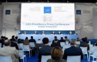G20 ülkeleri küresel vergi konusunda anlaşmaya...