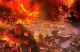 Yangın alanları 'Genel Hayata Etkili Afet Bölgesi'...