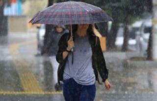 Antalya, Adana ve Isparta'da cumartesi günü yağış...